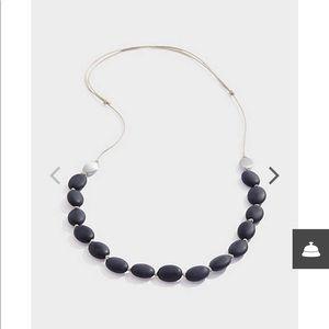 J.jill black Agate necklace